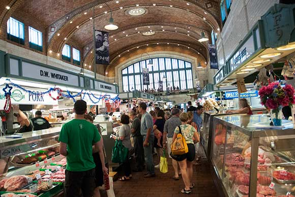 West Side Market - Photo Bob Perkoski