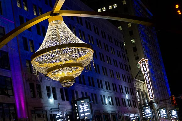 Playhouse Square - photo Bob Perkoski