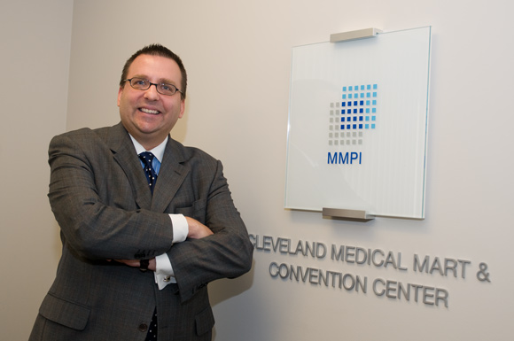 Tony Prusak, Director of Convention Sales for Medical Mart and Convention Center - Photo Bob Perkosk