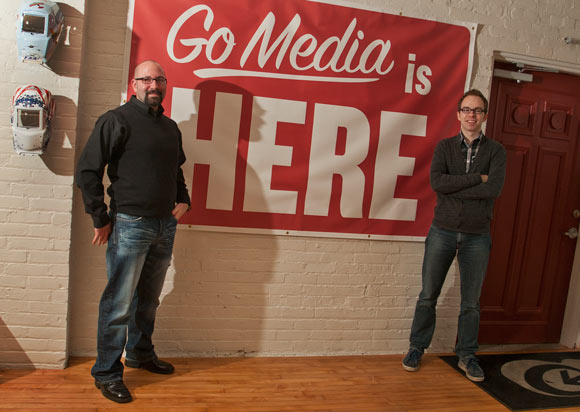 Bill Beachy and Jeff Finley of Go Media