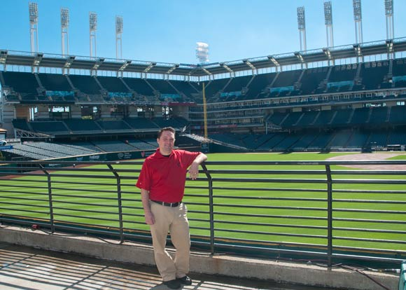 Brad Mohr, Assistant Director of Ballpark Operations - Photo Bob Perkoski