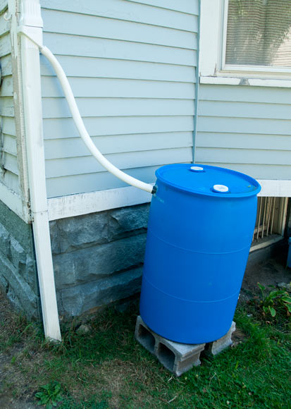 Rain Barrel at Jalil Garden