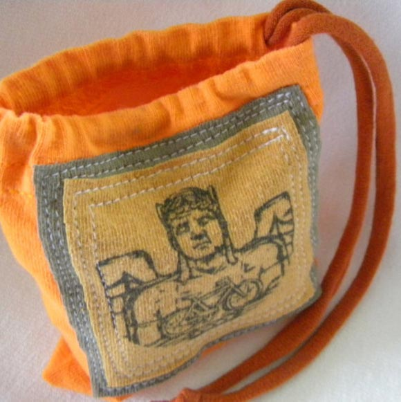Bicycle Guardian Pill Pouch from zJayne - Photo courtesy of zJayne