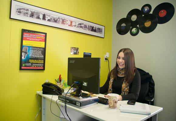 Christine Brooks, Sales and Promotion at 87.7 Cleveland's Sound