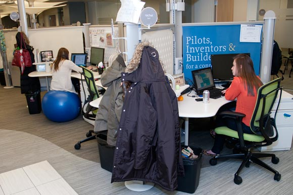 Forget The Corner Office Cleveland S Hottest Workspaces