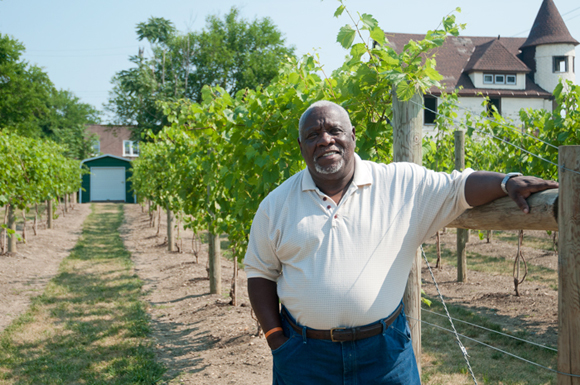 Mansfield Frazier of The Vineyard on Hough