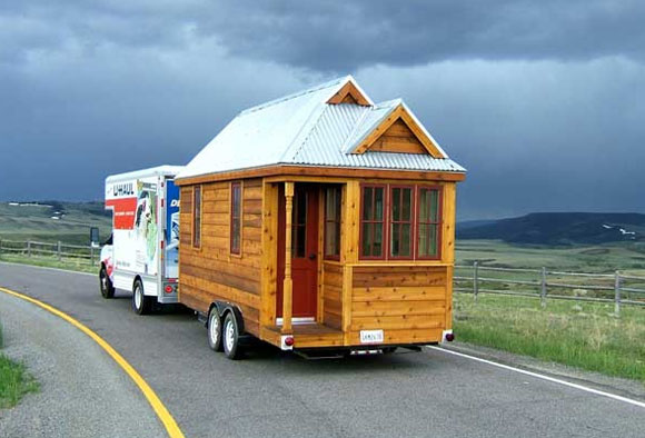 Fencl Home - Photo Courtesy of Tumbleweed Tiny House Co