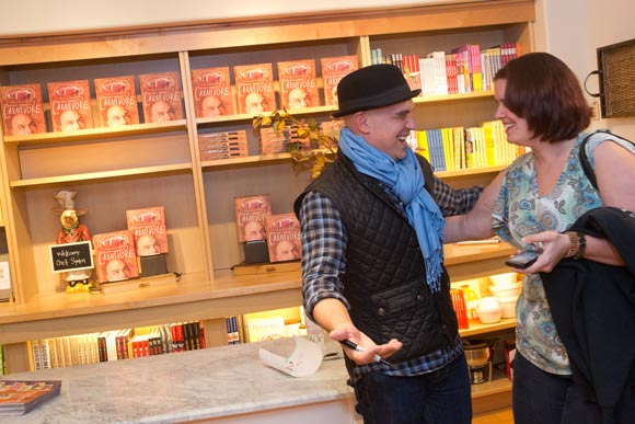 Michael Symon's Carnivore book signing at Williams-Sonoma in Beachwood