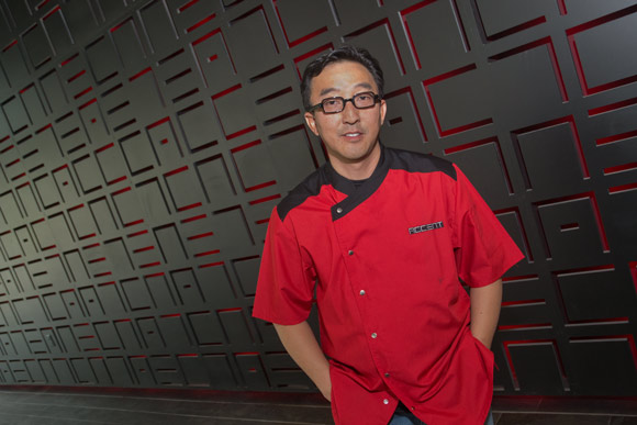 Chef Scott Kim of Sasa and the new Accent