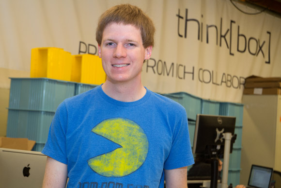 Jonny Hall, co-founder of the Cleveland-based electronics design firm Osmisys