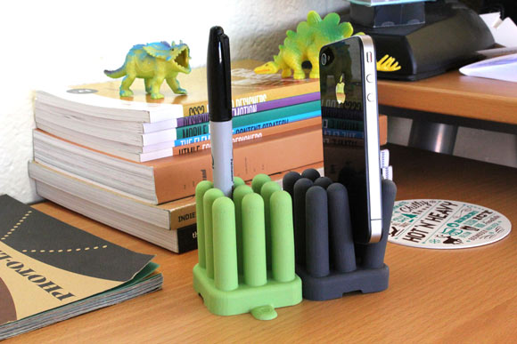 nesl desk organizer from Birdhouse Studios