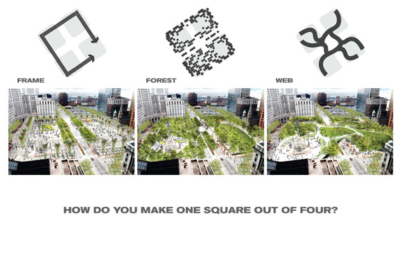 Public Square proposed render