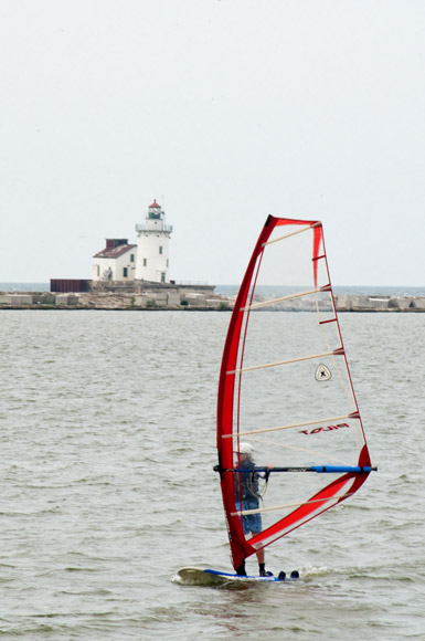 Wendy Park Windsurfer