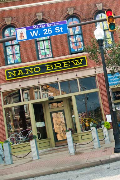Sam McNulty recently opened a small-batch brewery called Nano Brew Cleveland