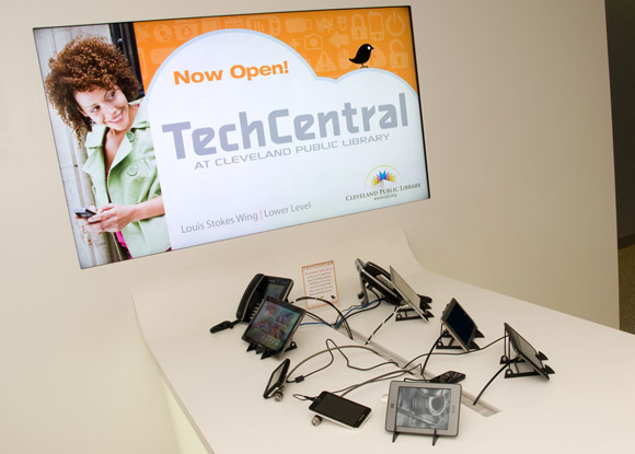 Check any of these devices out for a week from the Tech Toy Box at TechCentral
