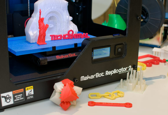 MakerBot Replicator 2 at TechCentral