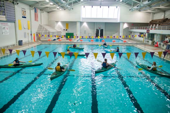 Get out and be one with nature for Cleveland high school swimming pool