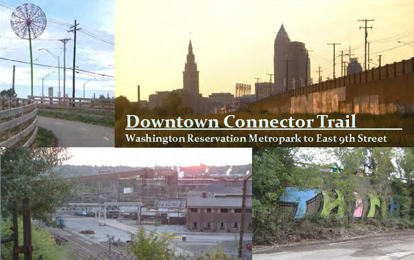 Red Line Greenway - Downtown Connector Trail - courtesy Greater Cleveland Regional Transit Authority
