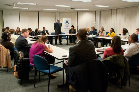Cleveland Young Professional Senate meeting
