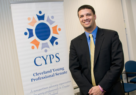 Will Tarter of the Cleveland Young Professional Senate