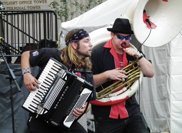 Jake Kouwe and The Chardon Polka Band - photo courtesy of Jake Kouwe