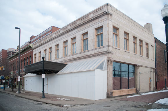 Future home of Mitchell's Ice Cream in on W25th in Ohio City