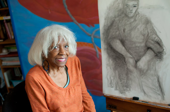 Artist Virgie Patton