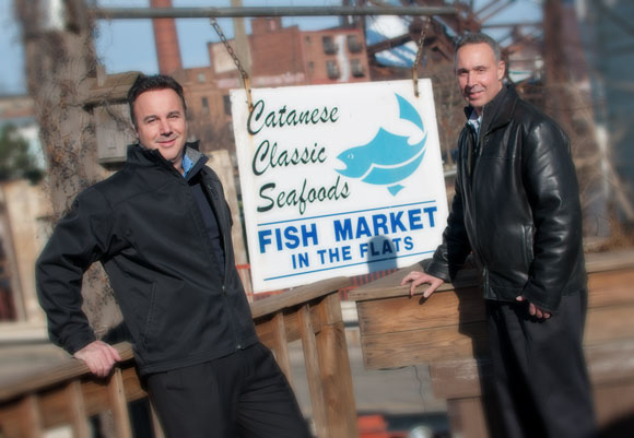 John and Jim Catanese of Catanese Classic Seafood