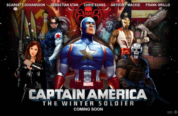 Captain America - The Winter Soldier. � 2011 MVLFFLLC.  TM & � 2011 Marvel.  All Rights Reserved.