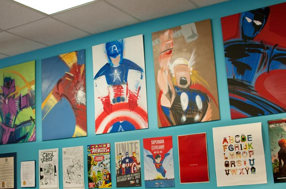 Popular illustrated men local ic book stores embrace city us superhero heritage