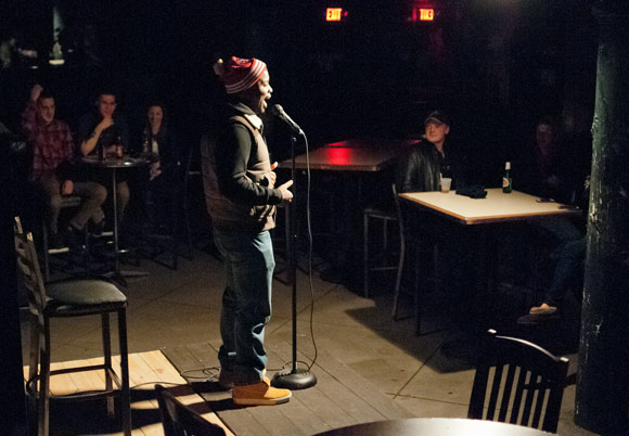 Comic, Nell Sinn - Chucklefck at the Blind Pig