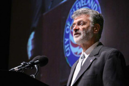 Mayor Frank Jackson at the 2012 Summit - photo Sustainable Cleveland 2019