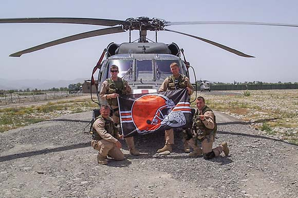 Browns Backers in Iraq