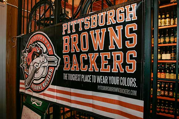 Pittsburgh Browns Backers