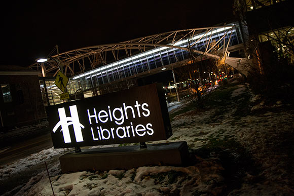 Heights Library on Lee Rd