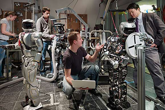 Robots come to life at Drexel University in Philadelphia's innovation district
