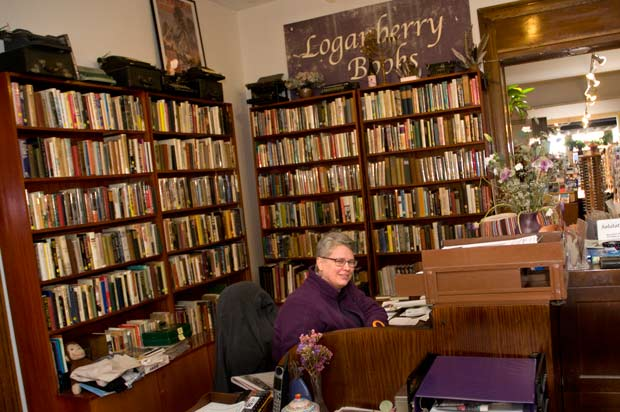 Harriett Logan, founder of Loganberry Books