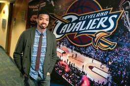 Mark Wright, Corporate Communications Manager at Cleveland Cavaliers - Photo Bob Perkoski