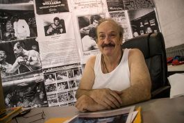 Gary Horvath owner of the Old Angle Boxing Gym