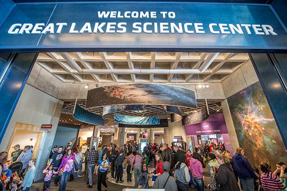 February�s Cleveland Foundation Weekend at the Great Lakes Science Center