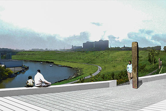 Irishtown Bend rendering