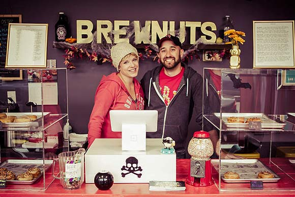 Brewnuts owners Shelley Fasulko and John Pippin
