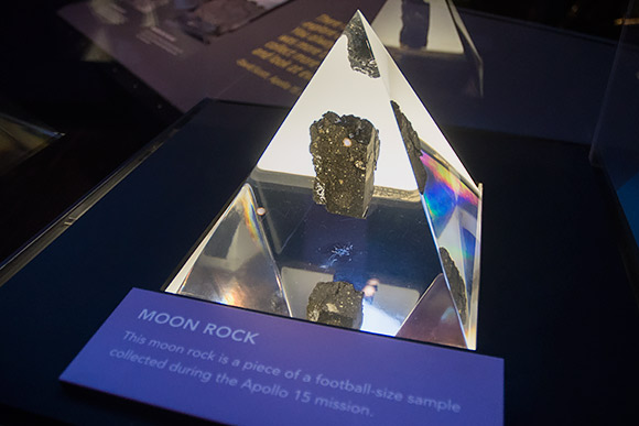 Great Lakes Science Center Moon Rock