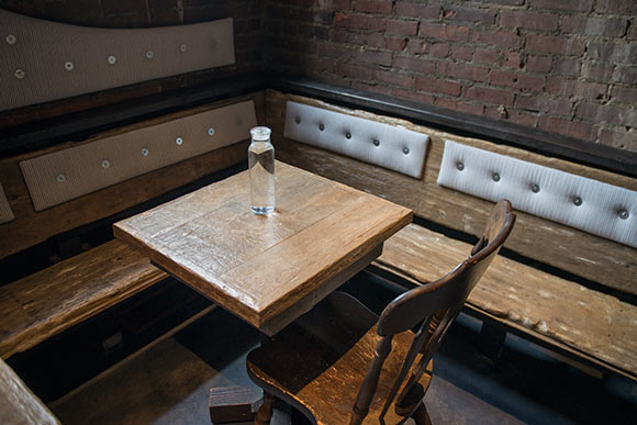 Table tops at The Spotted Owl by (ARC)form