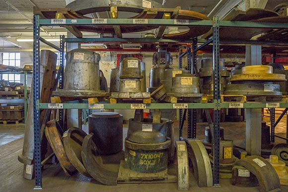 Sand casting forms from Taylor & Boggis Foundry Co. acquired by Rustbelt Reclamation