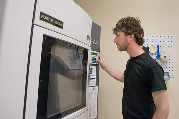3D printing at Case Western Reserve's think[box]