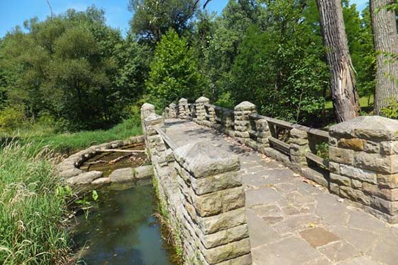 The Old Boating Pond Bridge, Garfield Reservation
