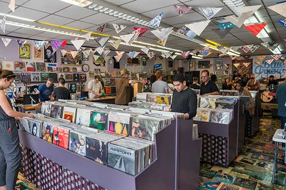Blue Arrow Records and Boutique