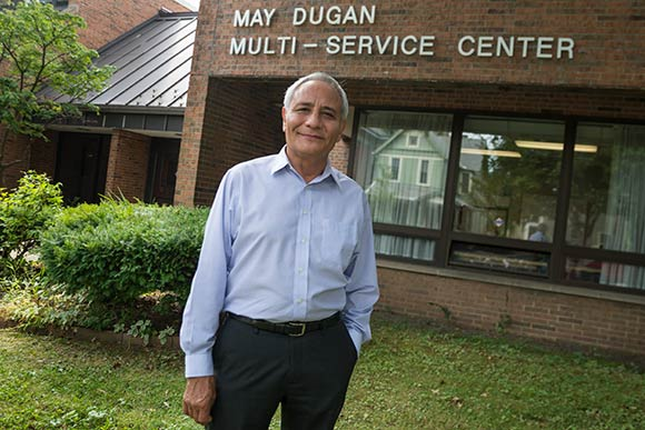 Executive Director Rick Kemm of The May Dugan Center