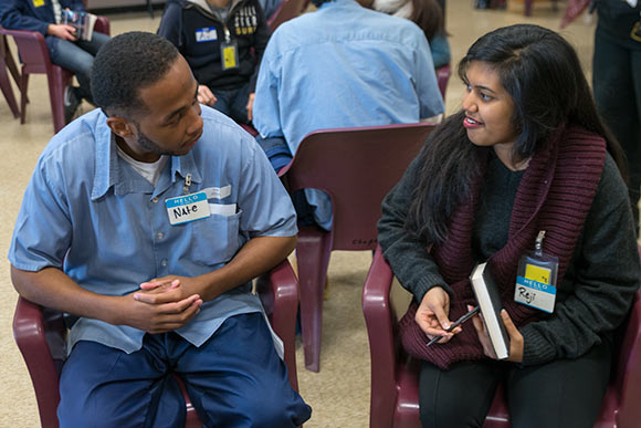 Inmates and CWRU students become colleagues in unique course